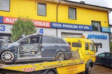 Automera UAB, Techninė pagalba kelyje / Automobilių servisas