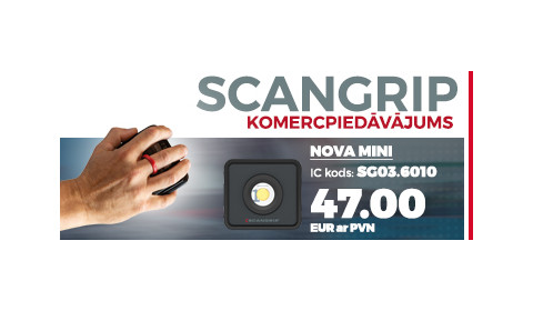 SCANGRIP speciālais piedāvājums