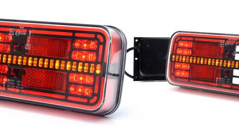 Lampy ze światłem o efekcie hologramu
