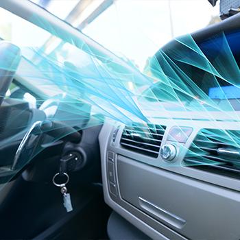 Car ozonation