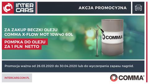Nowa promocja na oleje Comma