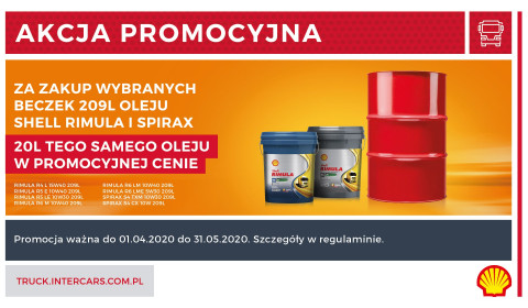 Olejowa promocja od Shell
