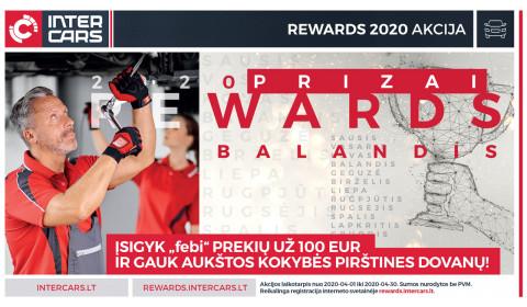 REWARDS 2020: balandis
