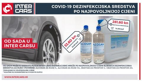 Covid-19 akcijska ponuda dezinfekcijskih sredstava