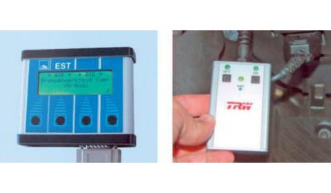 Wymiana klocków hamulcowych w samochodach z elektrohydraulicznymi układami hamulcowymi