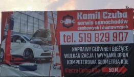 Kamil Czuba Serwis Samochodów Osobowych i Dostawczych