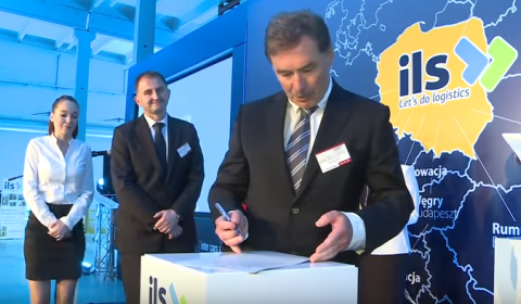 Podpisanie Aktu Erekcyjnego Europejskiego Centrum Logistycznego w Zakroczymiu