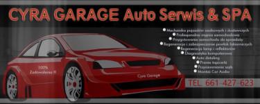 CYRA GARAGE Auto Serwis & Spa