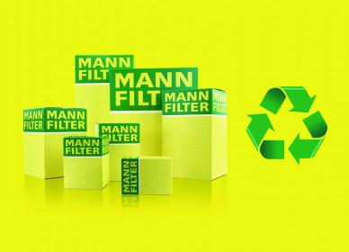 Predstavljamo vam MANN FILTER filtere i kutije proizvedene od recikliranih materijala