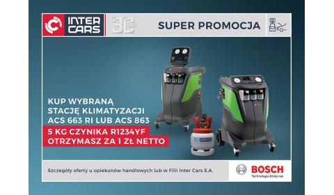 Stacja ACS Bosch z czynnikiem za 1 zł netto