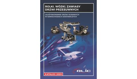 Katalog BLIC          Rolki, wózki, zawiasy drzwi przesuwnych samochodów dostawczych