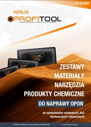 PROFITOOL - katalog akcesoriów do naprawy opon 2019/2020