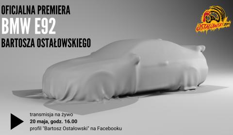 Premiera nowego samochodu Bartosza Ostałowskiego