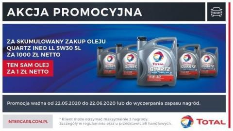 Zdobądź nagrody w promocji olejów Total