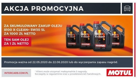 Promocja na oleje Motul