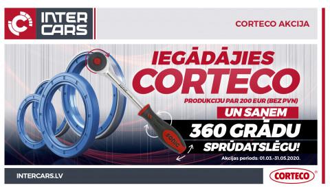 CORTECO akcijas uzvarētāji!