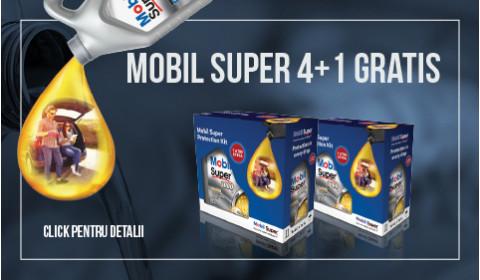 MOBIL SUPER 4+1