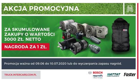 Promocja za zakup pomp hydraulicznych i szybkozłącz