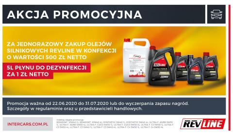 Nowa promocja na oleje REVLINE