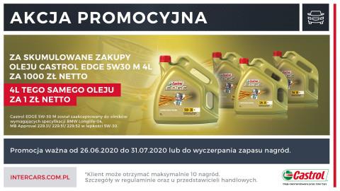 Promocja na olej Castrol EDGE 5W30 M 4l
