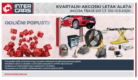 Akcijski kvartalni letak banner - Alati i servisna oprema_01.07.-15.09.