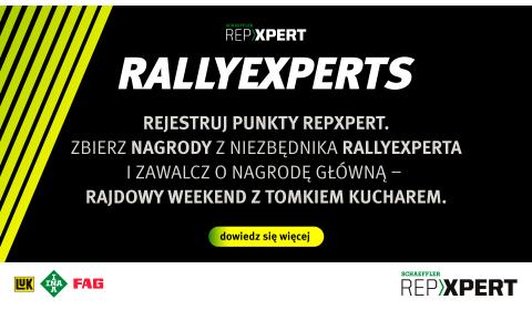 Weź udział w akcji specjalnej RALLYEXPERTS