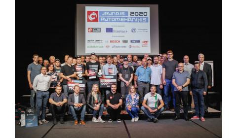 Konkursa Jaunais Automehāniķis 2020 fināls