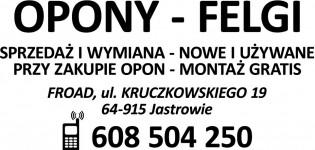 Opony Felgi Serwis Opon FROAD Ryszard Dąbrowski