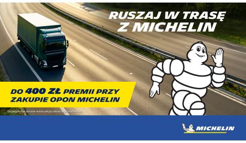 Ruszaj w trasę z Michelin