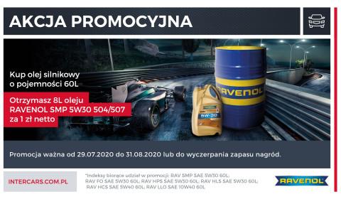 Olej za olej w nowej promocji Ravenol