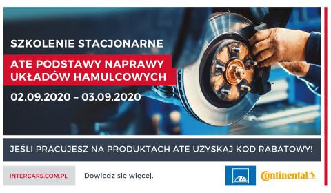 Szkolenie stacjonarne z podstaw naprawy układów hamulcowych już 2-3 września 2020 r.