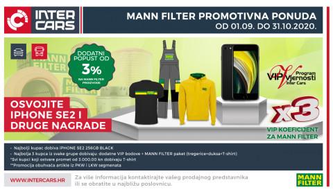 Mann filter - promotivna ponuda filtera