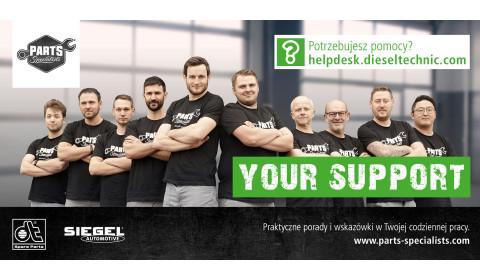 Mechanicy z własną mikrowitryną od Diesel Technic