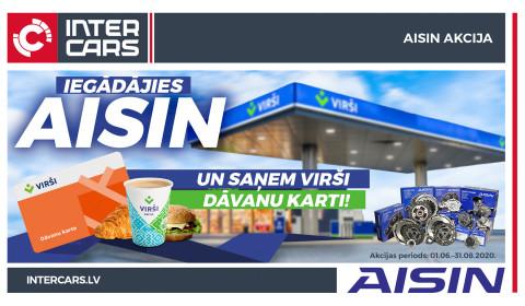 AISIN akcija ir noslēgusies!
