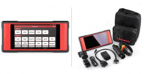 """LAUNCH – CRP MOT LAUNCH diagnostikos testeris su 7 colių jutikliniu ekranu ir """"Android"""" sistema"""