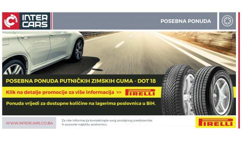Posebna ponuda Pirelli zimskih, putničkih guma - DOT 18