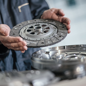 Clutch plate replacement