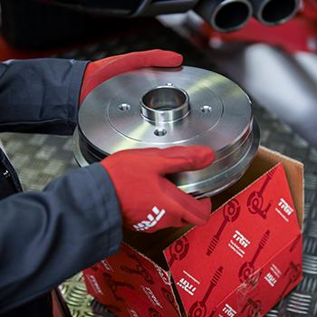 Brake drum repair