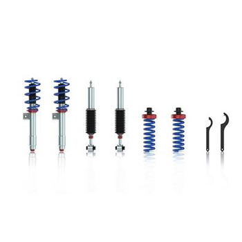 Fitting sports shock absorbers