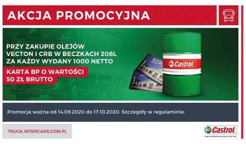 Promocja za zakup olejów Castrol Vecton i CRB
