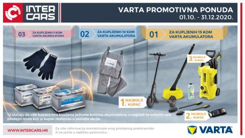 Promotivna ponuda VARTA 01.10-31.12.2020