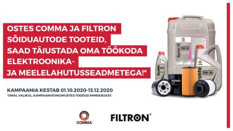 COMMA | FILTRON kampaania