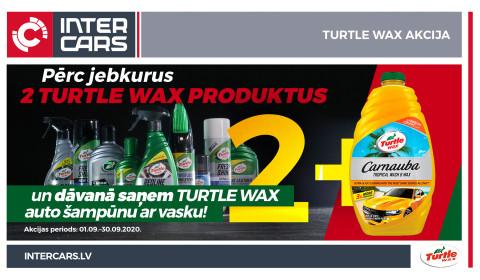TURTLE WAX akcijas uzvarētāji!