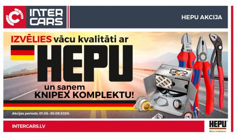 HEPU akcija ir noslēgusies!