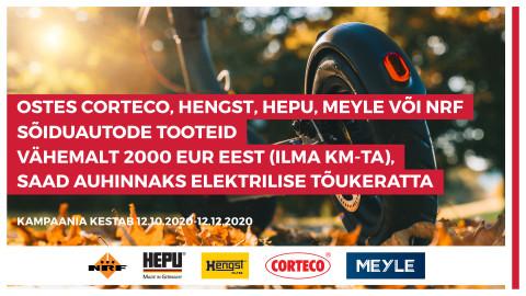 CORTECO | HENGST | HEPU | MEYLE | NRF kampaania
