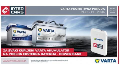 VARTA nagrađuje kupovinu akumulatora