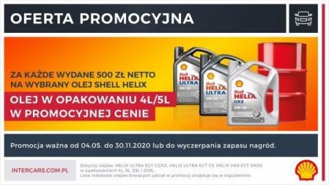 Uwaga! Przedłużamy promocję na oleje Shell Helix