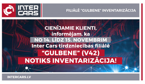 V42 Gulbenes filiāles inventarizācija