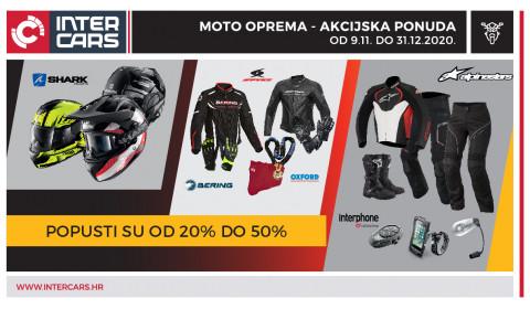Moto oprema - akcijska ponuda 09.11.-31.12.