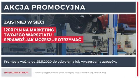 Zaistniej w sieci - 1200 PLN na marketing twojego warsztatu
